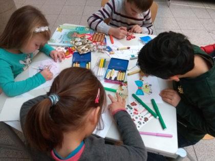 Koledni kartichki 2018, Българско училище в Тюбинген