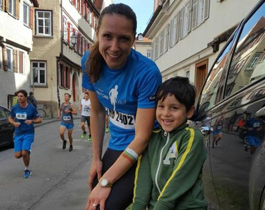 Marathon-Lauf