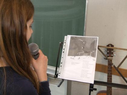 Musikalni chasove, Българско училище в Тюбинген