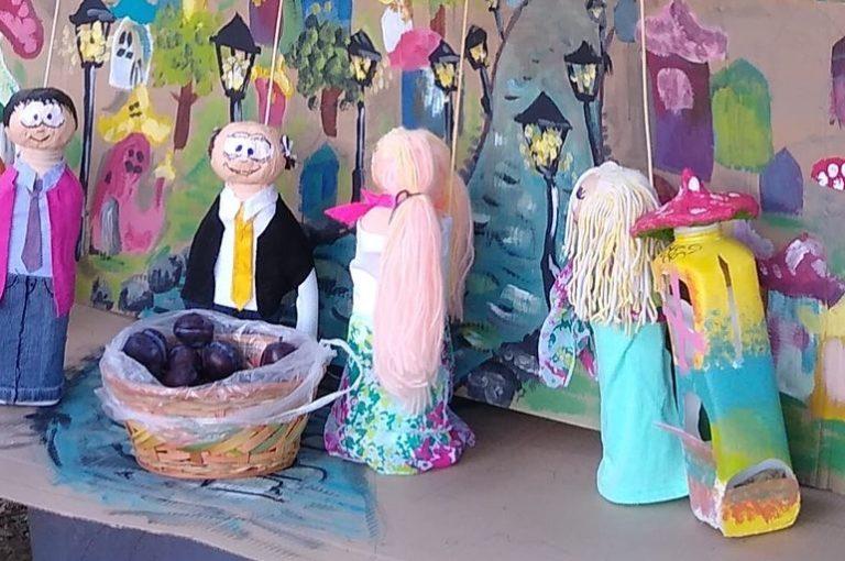 """Кукли: модерната приказка на децата """"Сливи за смет"""""""