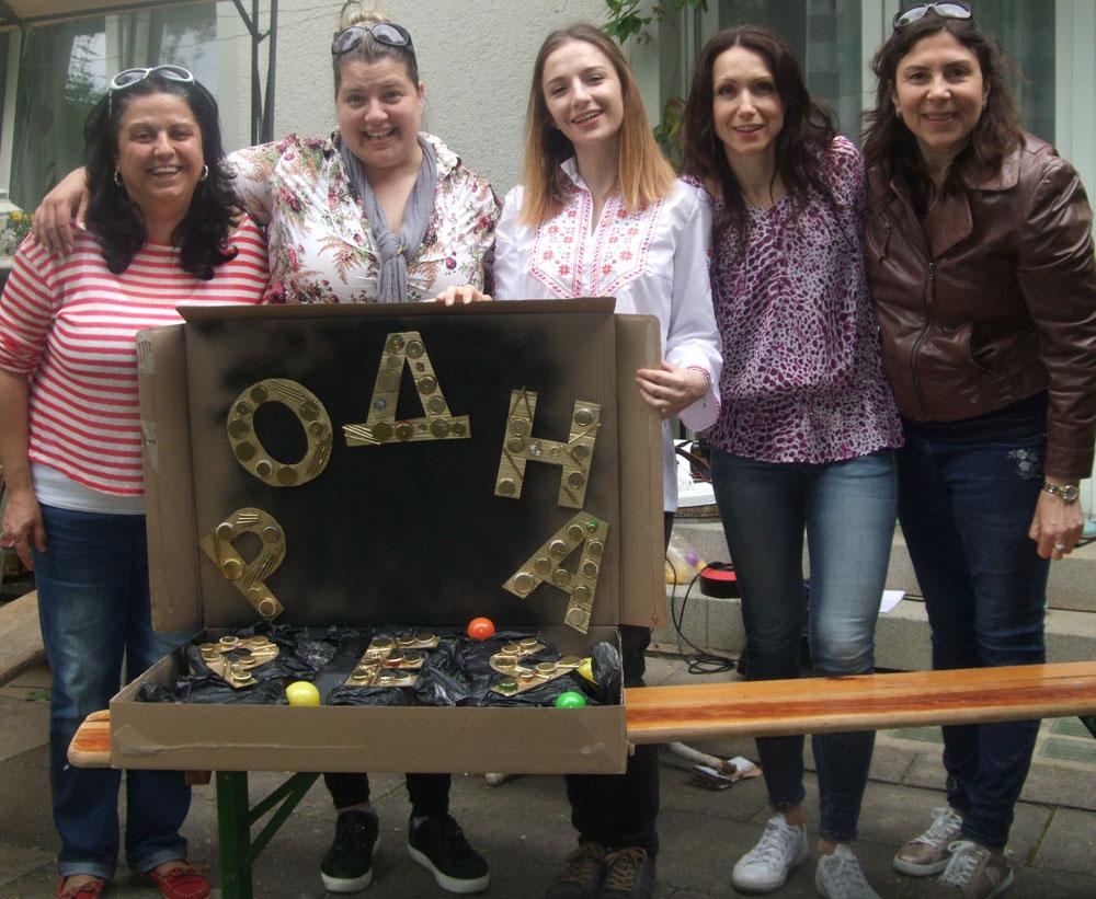 Екип на Българското Училище и Дружеството в Тюбинген